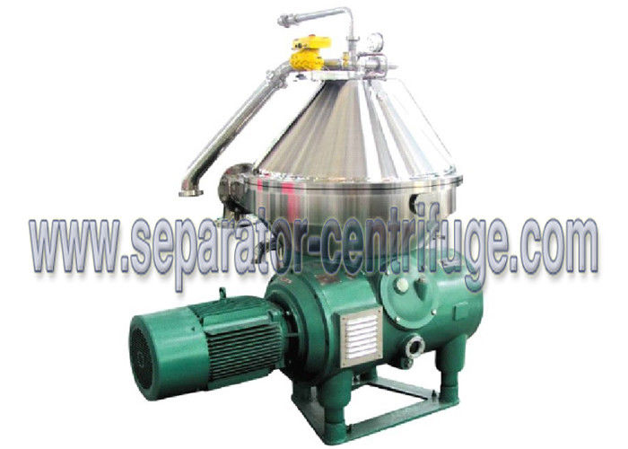 Food Centrifuge / Disc Type Centrifuge for Vegetable Oil Extraction