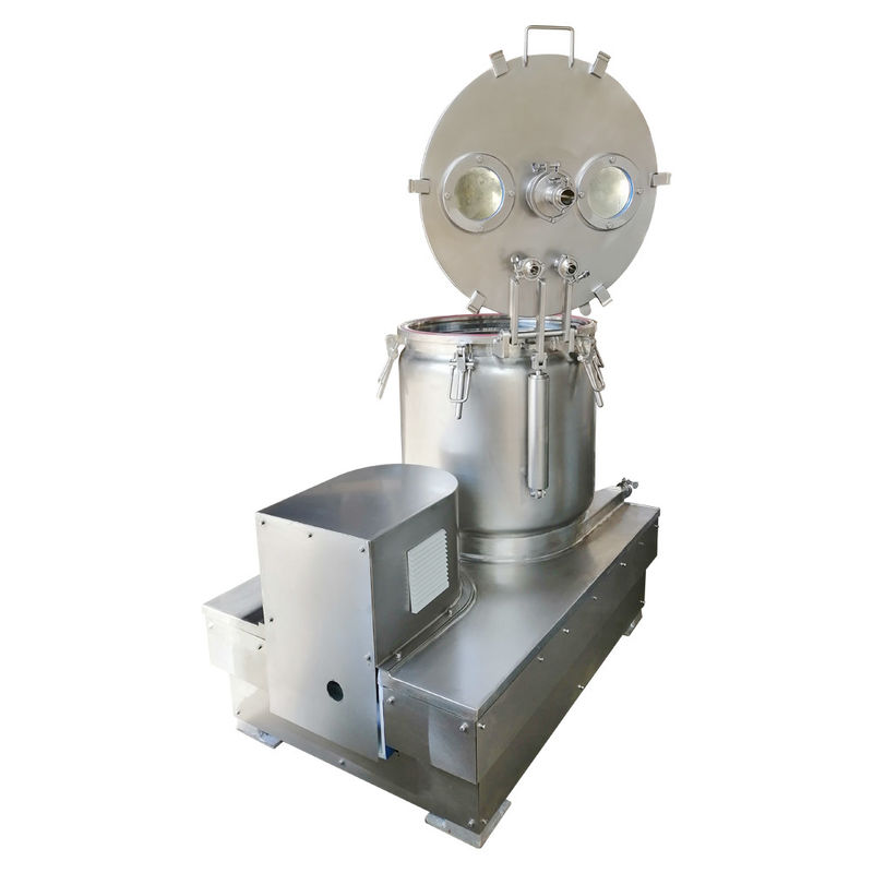 30 Lbs To 200 Lbs Top Diacharge Centrifuge Cryo Ethonal Extraction Solution